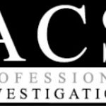 ACS Professional Investigations